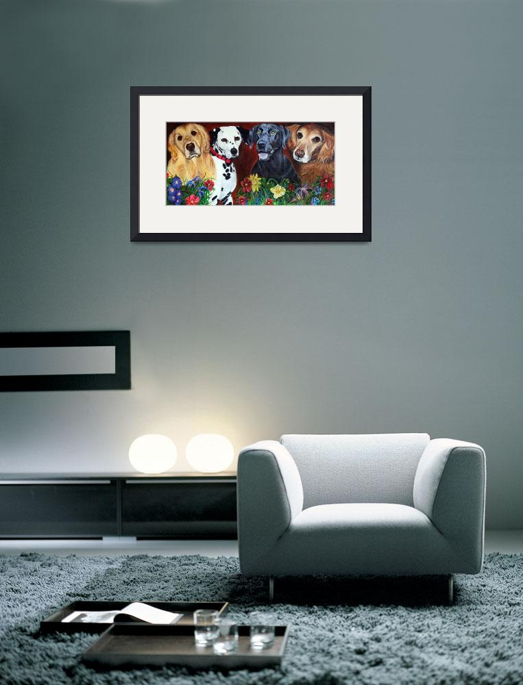 """Bright and Beautiful - ""The Hearts of Therapy""&quot  (2007) by ArtPrints"