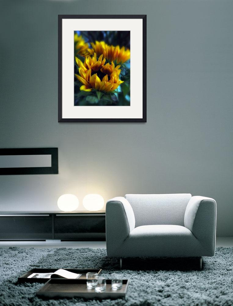 """""""Sunflowers&quot  (2010) by JessicaJenney"""