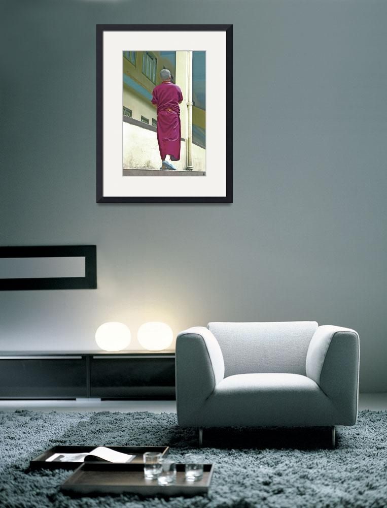"""""""Walking Monk""""  (2008) by madshow"""