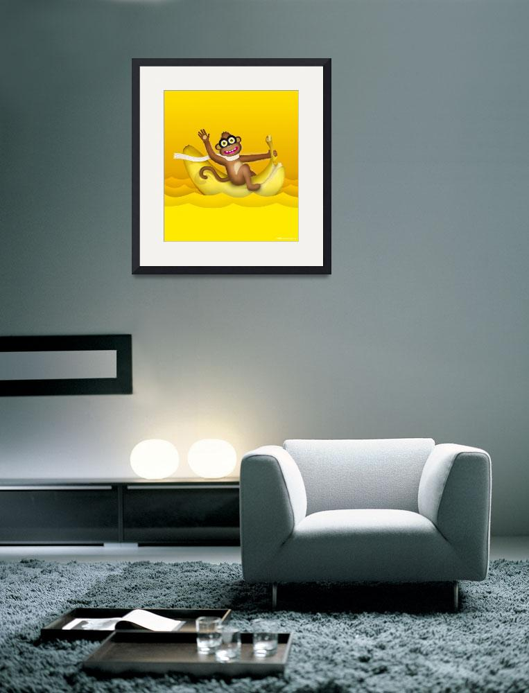 """""""Monkey and Banana&quot  (2013) by ellsworth"""