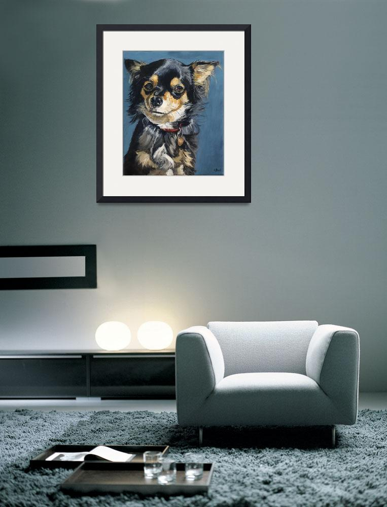 """""""Lucy - a chihuahua""""  (2008) by kelliestraw"""