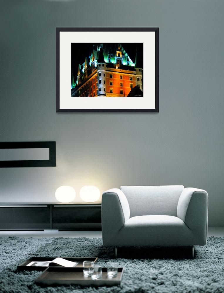 """""""Chateau at Night&quot  by tsr"""