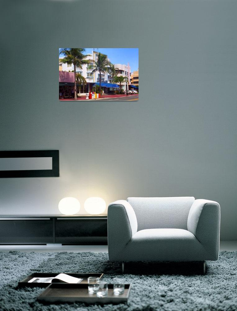 """Miami Beach - Art Deco 2003&quot  (2003) by Ffooter"