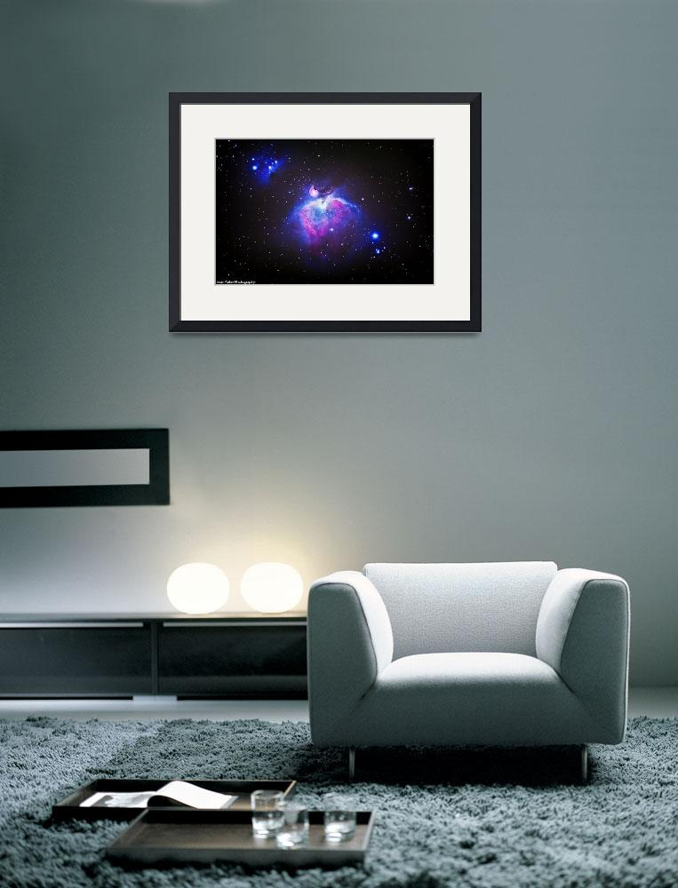 """""""The Great Orion Nebula&quot  (2012) by SeanParkerPhotography"""