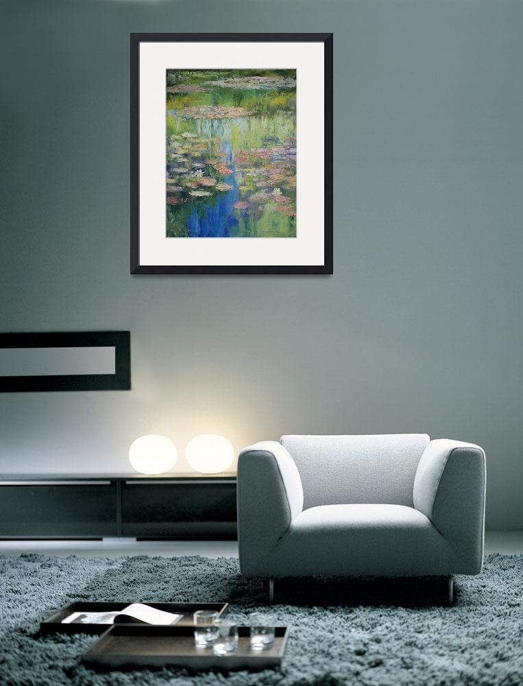 """""""Water Lily Pond&quot  by creese"""