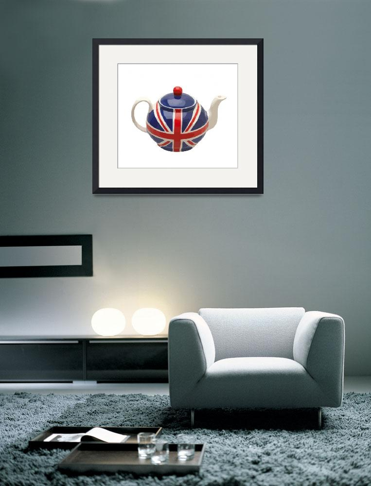 """""""UK Tea Time&quot  (2010) by whitewallgallery"""
