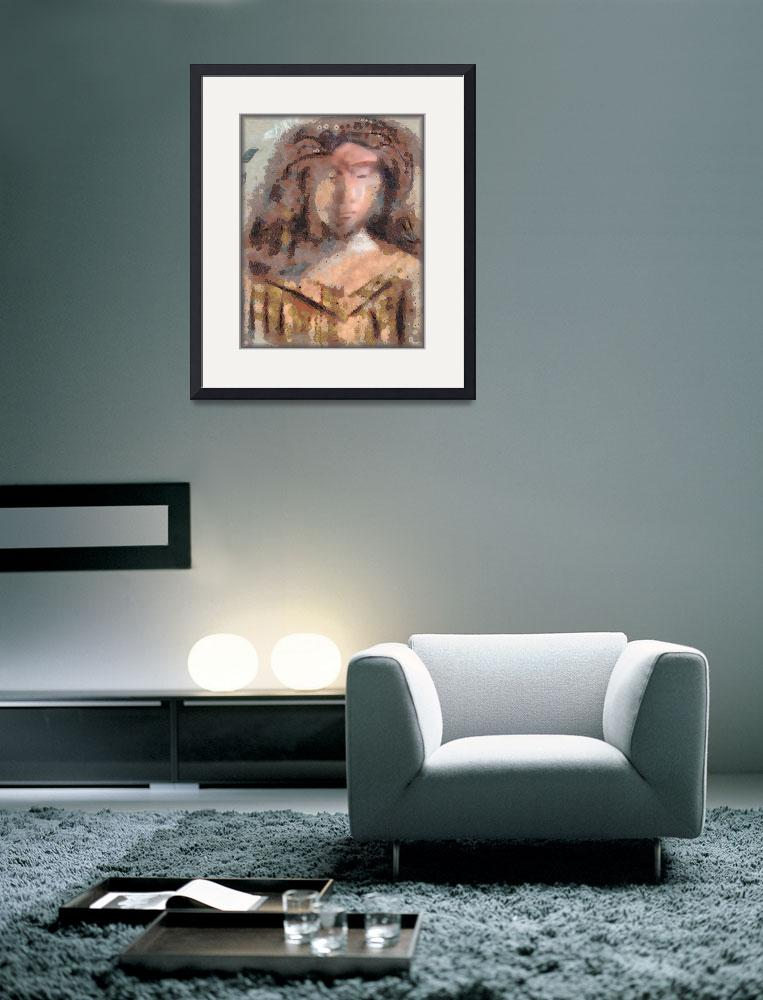 """""""Lost in thought""""  (2011) by artforcancer"""