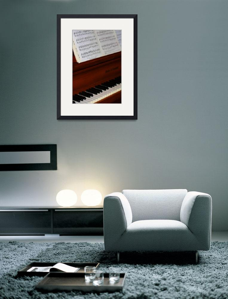 """""""Piano Music 0952&quot  (2009) by rayjacque"""