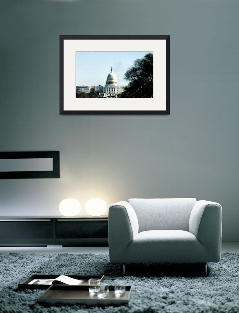 """""""Capitol Forlorn&quot  (2002) by pharrisart"""
