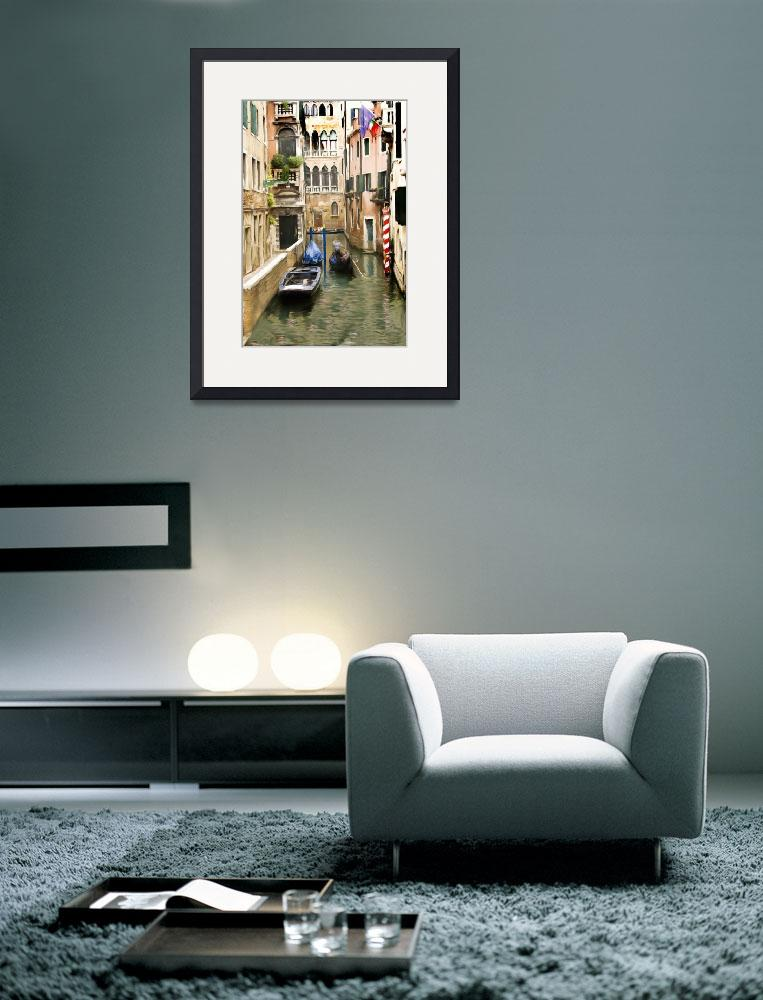 """""""CANALS OF VENICE&quot  (2009) by shaynaphotography"""