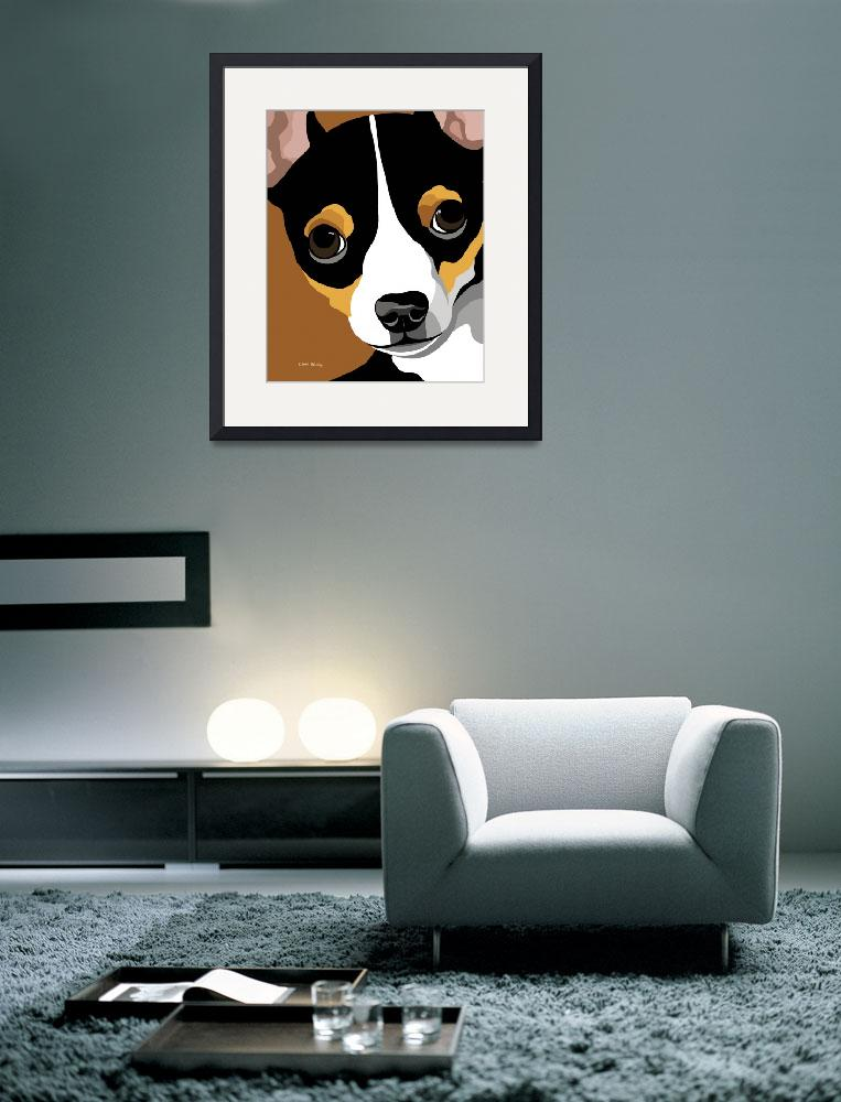 """Chihuahua Art&quot  (2009) by waterart"