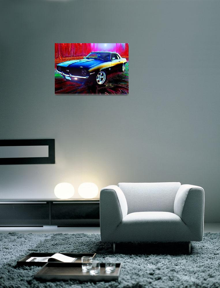 """""""69 Camaro SS 396&quot  (2012) by jt85"""