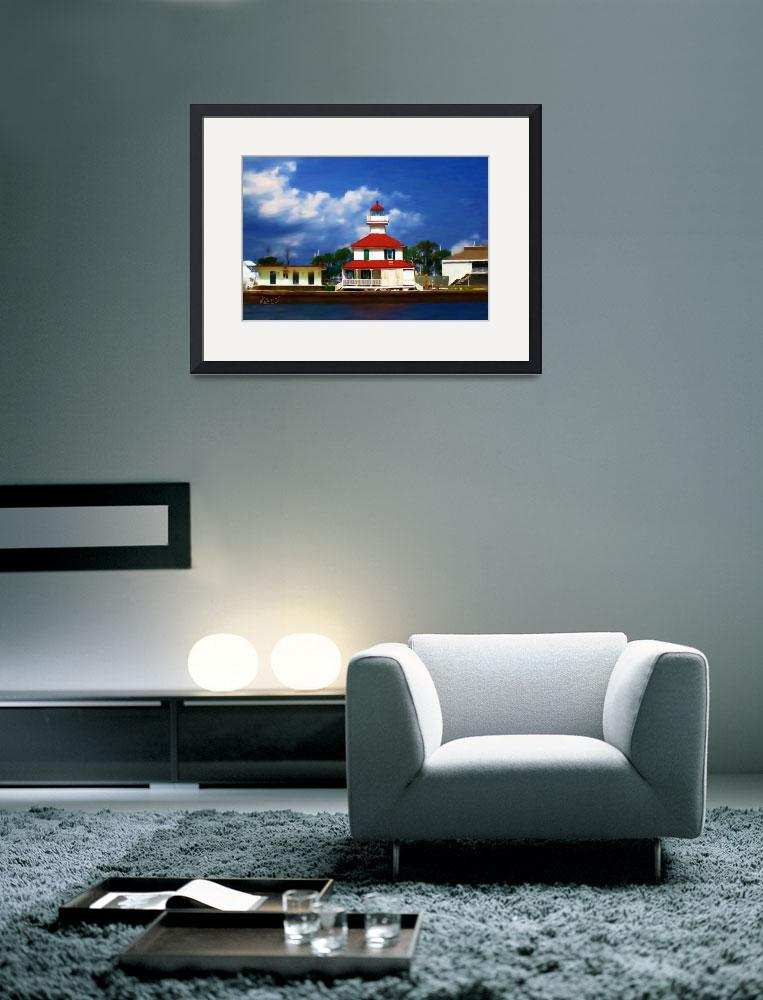 """Lighthouse on the Lake&quot  (2009) by knightvision"
