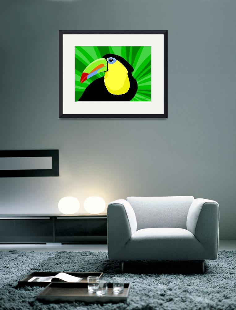 """Toucan&quot  by waterart"
