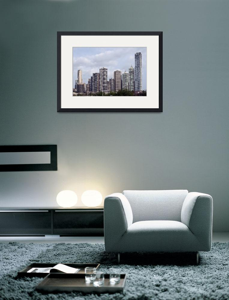 """Panama City skyline, Panama.&quot  by FernandoBarozza"