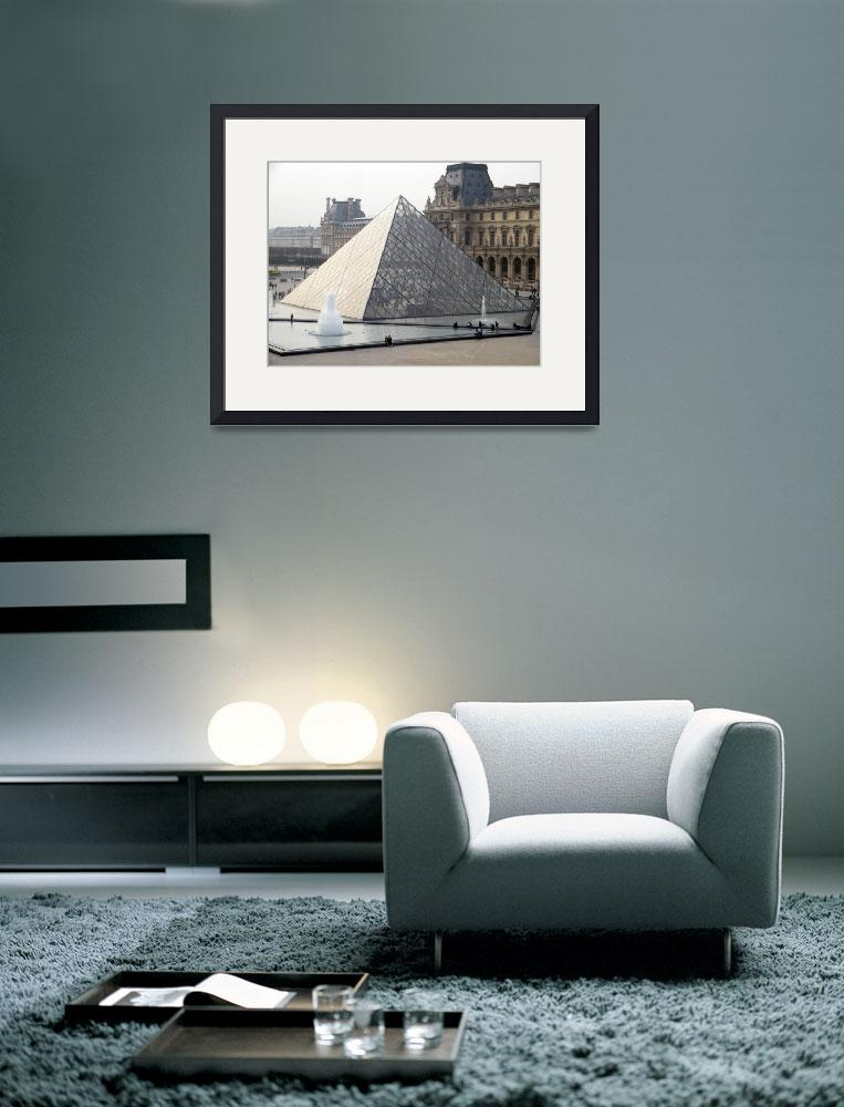 """""""Louvre&quot  (2008) by hudsons_photography"""