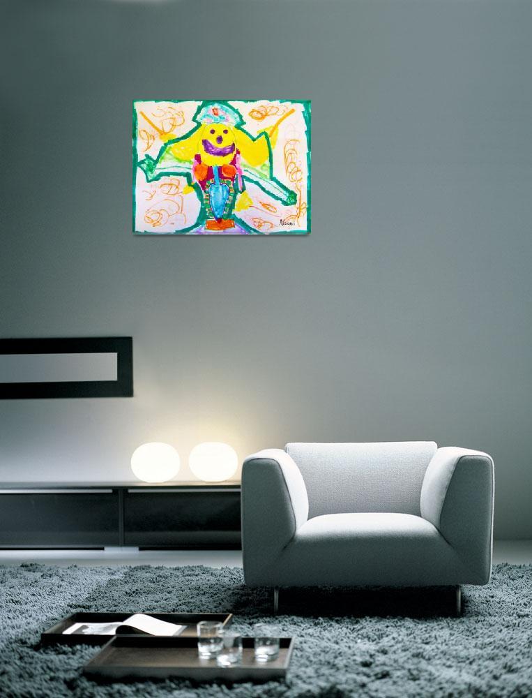 """Clown Nurse Surrealism""  by 4FootNinja"