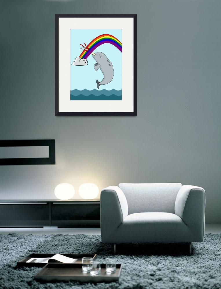 """""""Narwhal is Unimpressed&quot  (2010) by frankpena"""