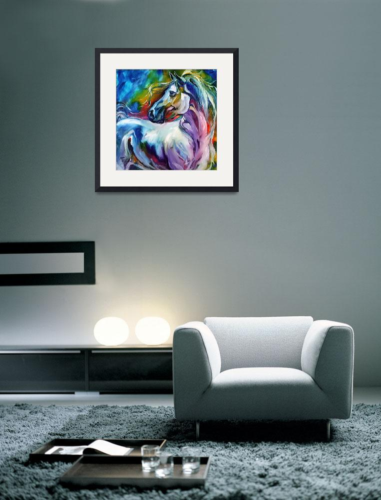 """""""MYSTIC POWER EQUINE&quot  (2012) by MBaldwinFineArt2006"""