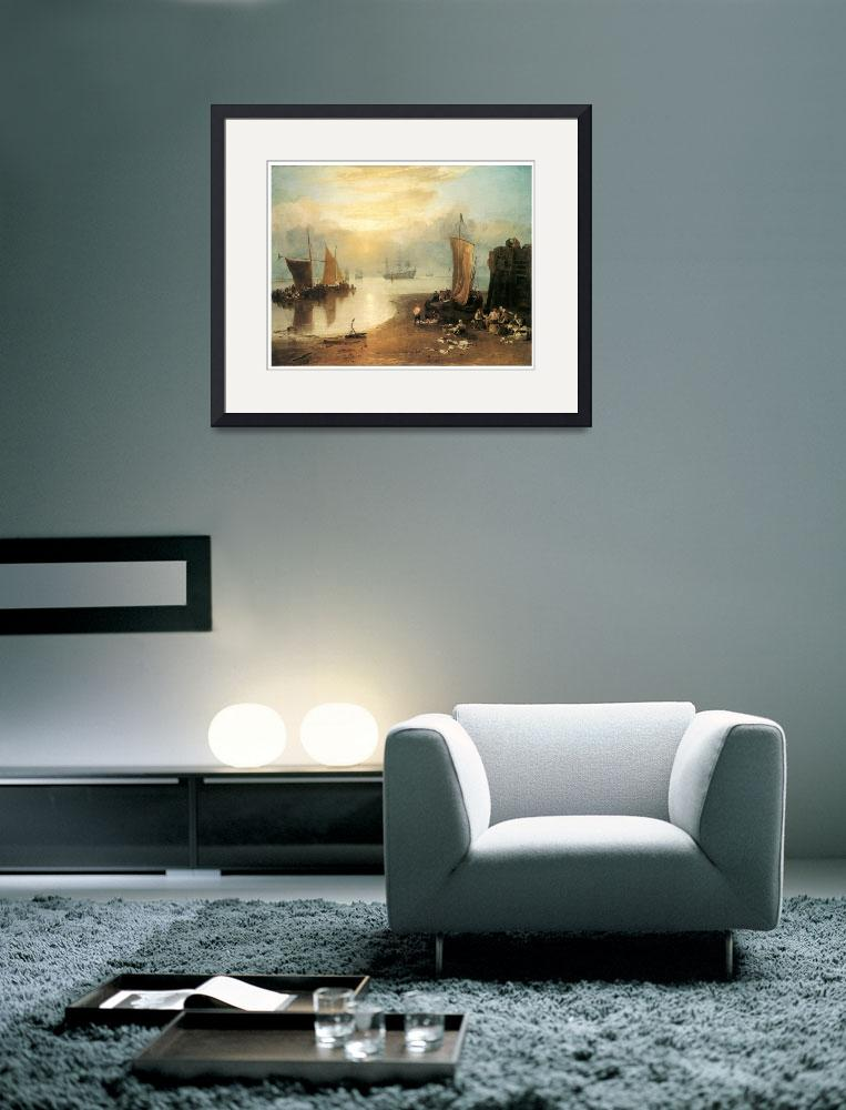 """""""Sun Rising Through Vapour by J. M. W. Turner""""  by ArtLoversOnline"""