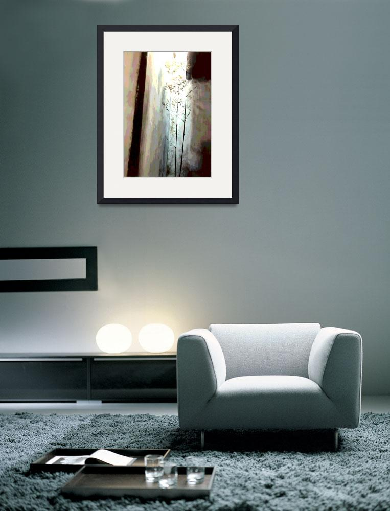 """China Delicate Bamboo 1 neutral&quot  (2008) by LeslieTillmann"