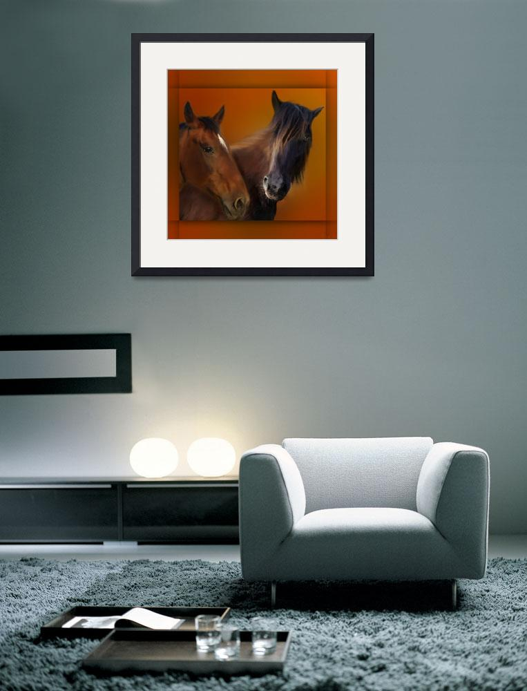"""""""Horses""""  (2014) by AnneVis"""