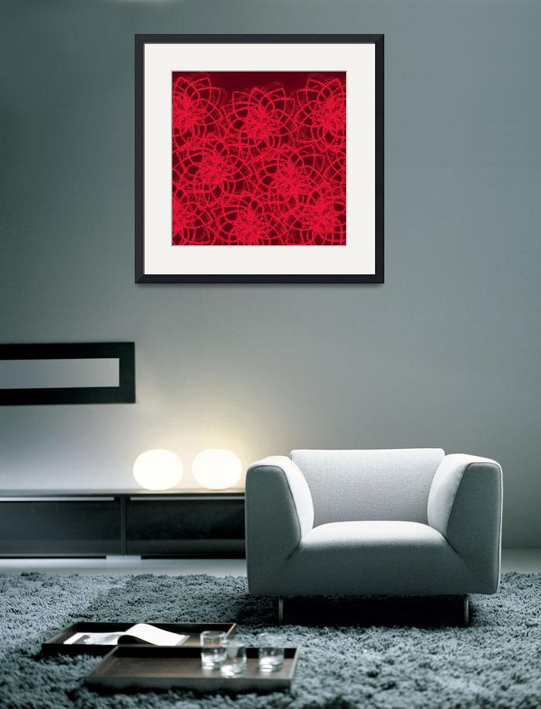 """""""Red Lace Cocoa&quot  (2010) by MaryDolan"""