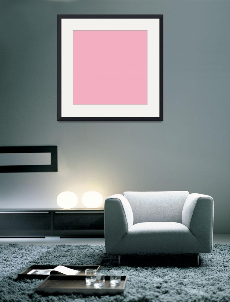 """Square PMS-203 HEX-F2AFC1 Pink Magenta Red""  (2010) by Ricardos"