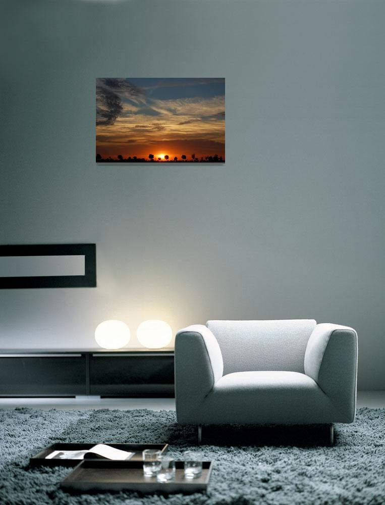 """Sunset 2007""  (2007) by Sizemore"