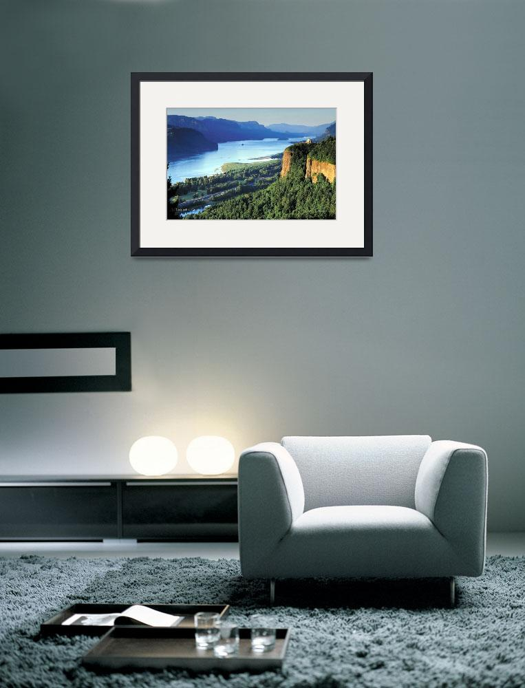 """Columbia River Gorge&quot  (2010) by netbrands"