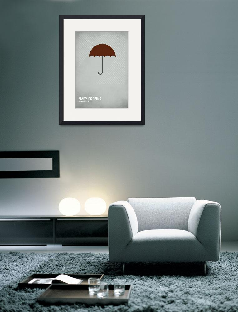 """Mary Poppins&quot  (2010) by squareinchdesign"