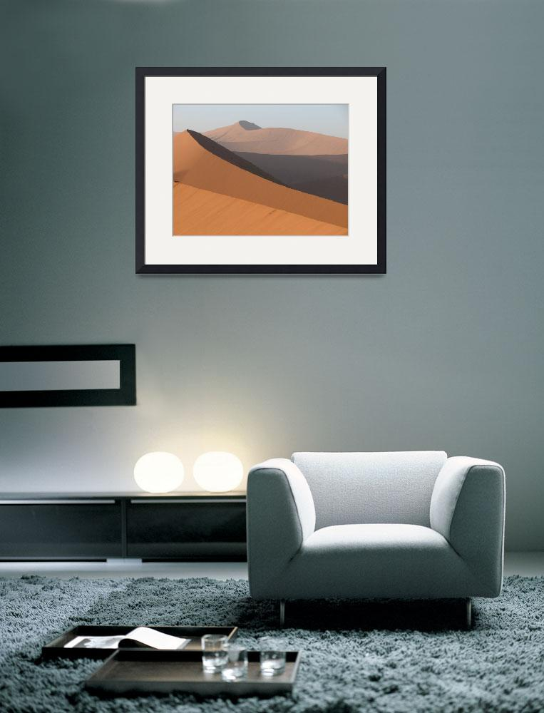 """African sand dunes&quot  (2006) by bluejean"