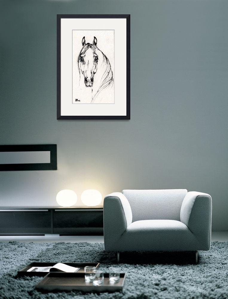 """""""equine drawing&quot  by tarantella"""