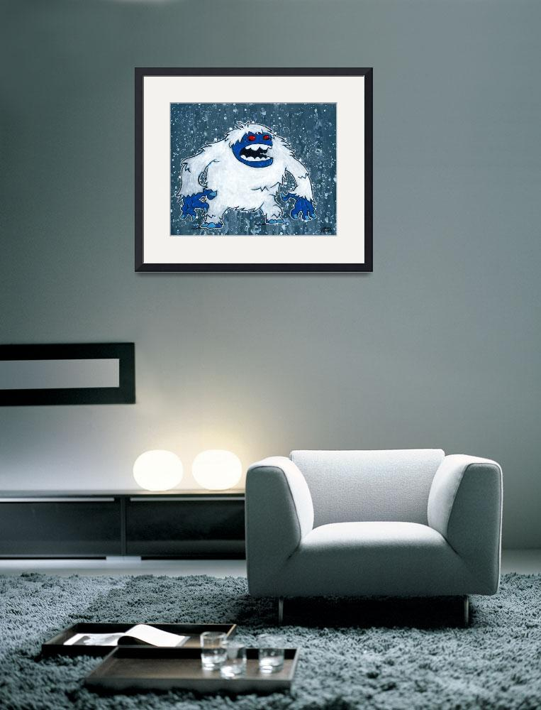 """""""Yeti&quot  by macula"""