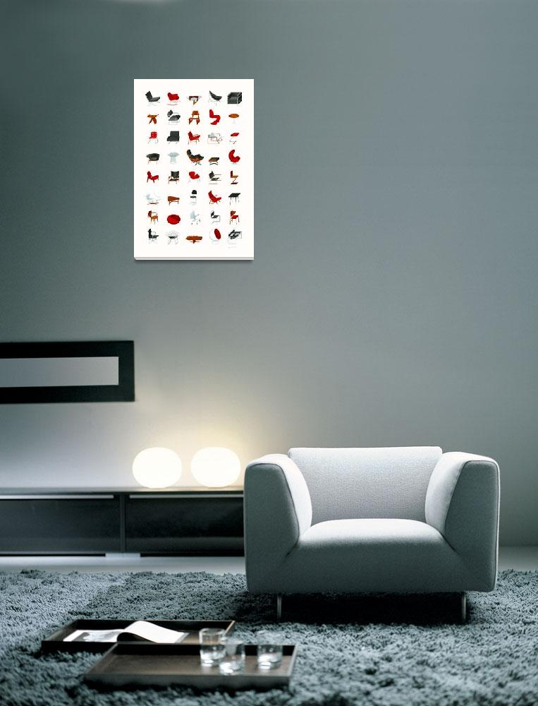 """Mid-Century Modern Collection (Neutral)""  (2009) by jamesprovost"