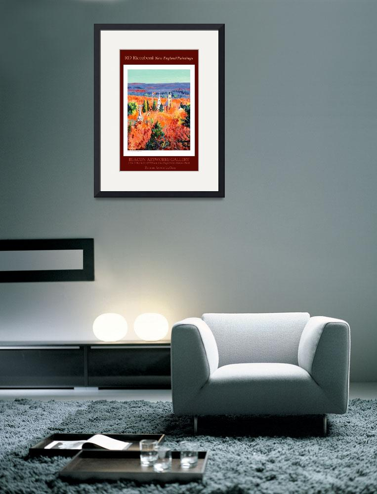"""RD Riccoboni New England Paintings Poster&quot  (2007) by RDRiccoboni"