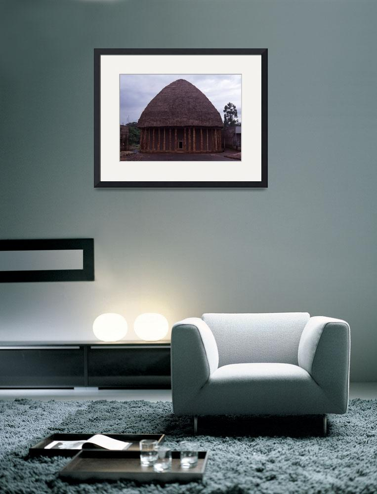 """""""Council Meeting Place in Bandjoun, Cameroon&quot  by jaredjared"""
