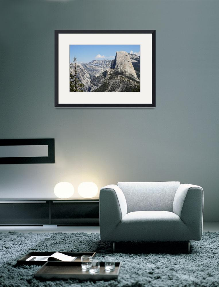 """""""Half Dome in July&quot  (2006) by TOMSHEA"""