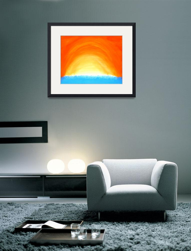 """Tunnel of Light&quot  (2009) by WitherspoonAbstract"