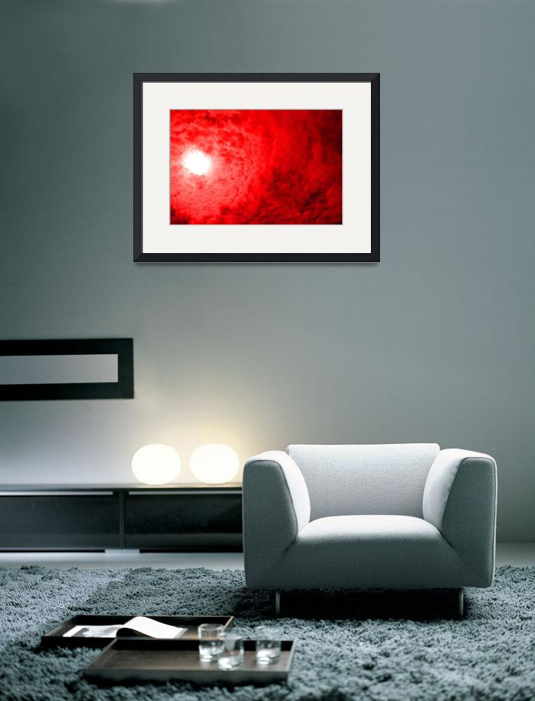 """""""Light At The End - Red&quot  (2012) by ChainsawNecktie"""