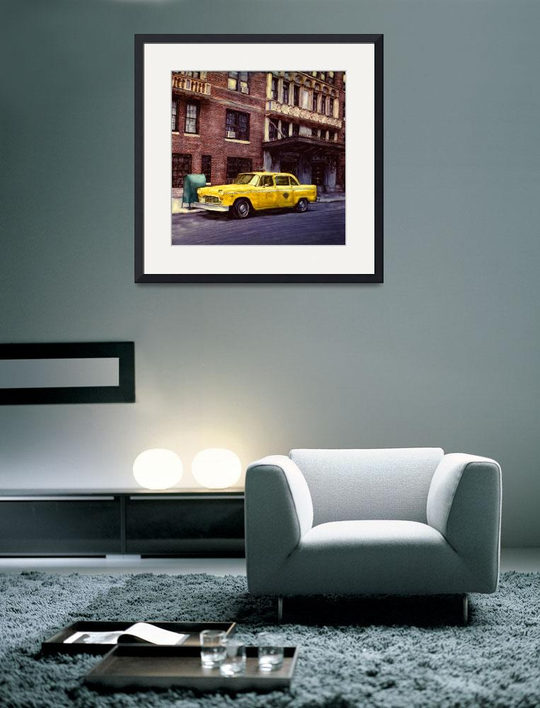 """New York, Checker Cab&quot  (2001) by joegemignani"