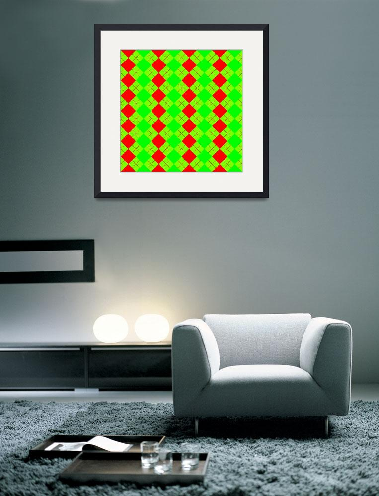 """""""sweater texture mixed red and green""""  by robertosch"""
