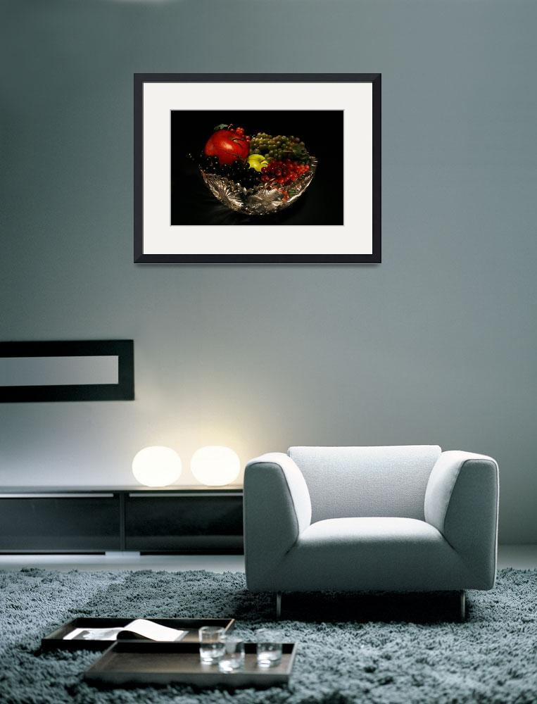 """""""Light Painting Fruit Bowl&quot  (2010) by GuyWood"""