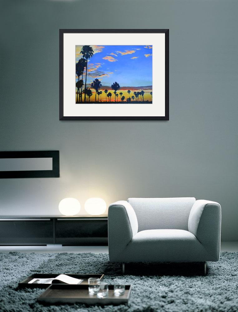 """""""Mission Bay Sunset San Diego California&quot  (2013) by RDRiccoboni"""