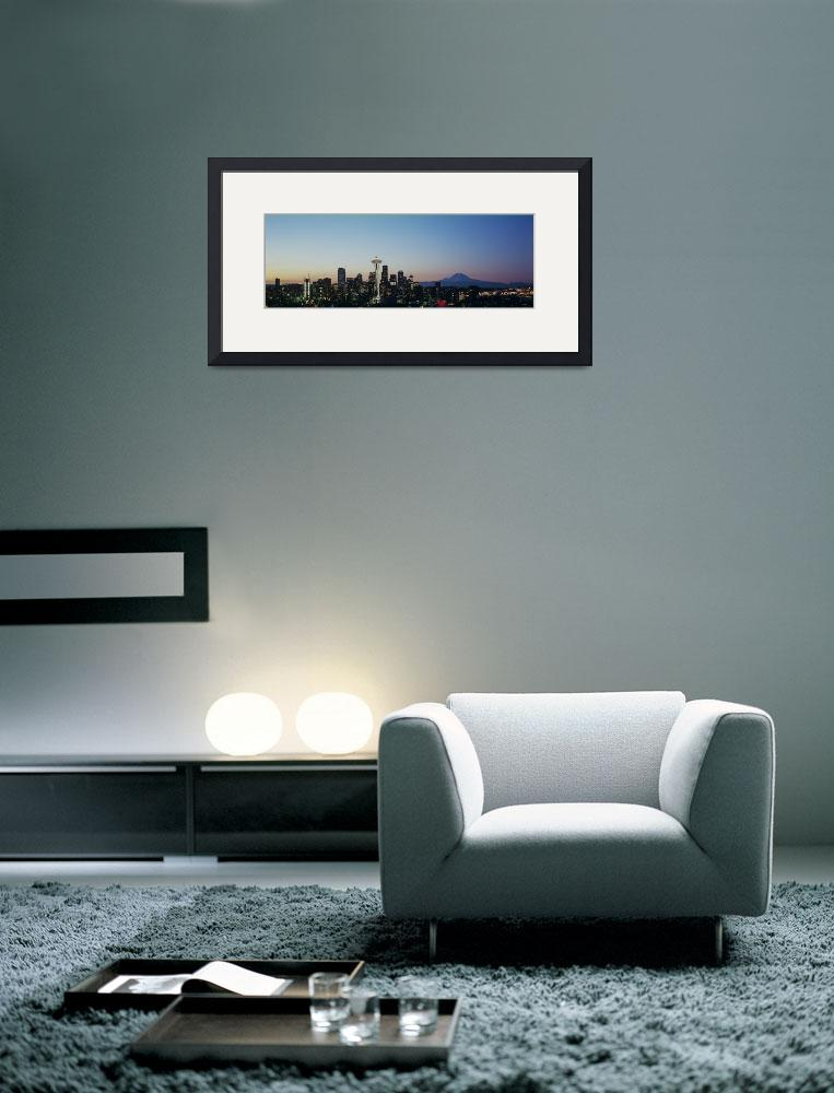 """""""Kerry Park Spring Sunrise&quot  (2009) by salmonbay"""