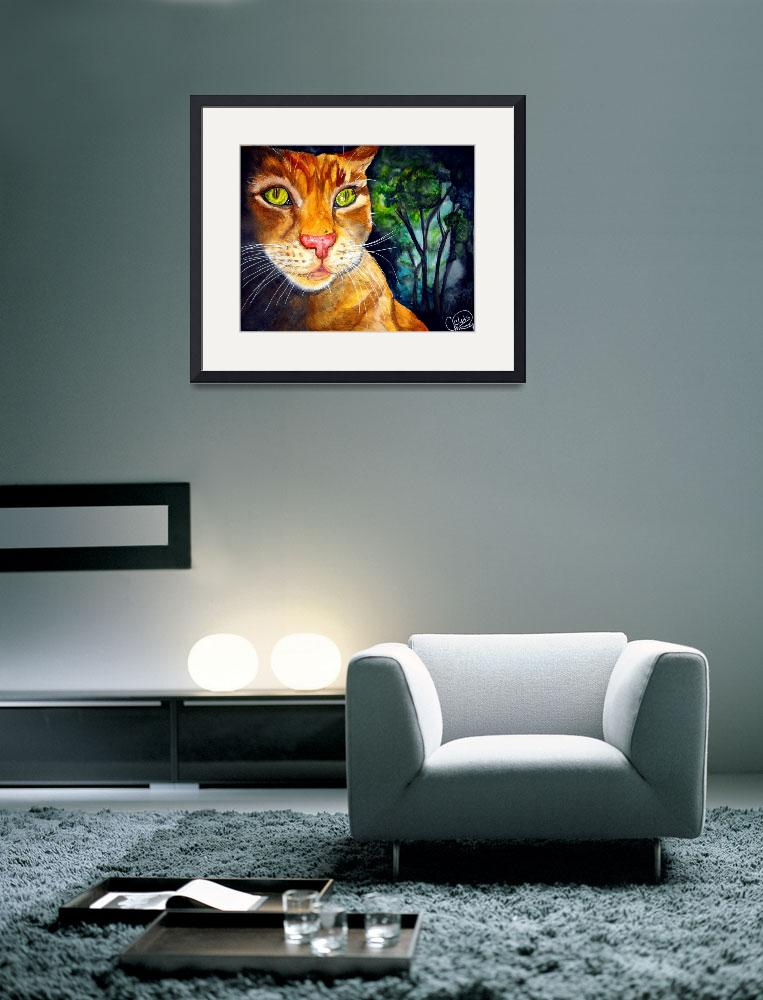 """""""Tigger of the Gardens&quot  (2009) by ChrisCrowley"""