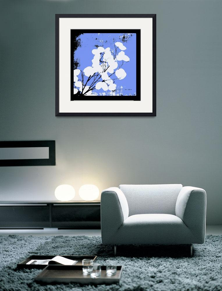 """""""French Blue Money Plant&quot  (2008) by HerbDickinson"""