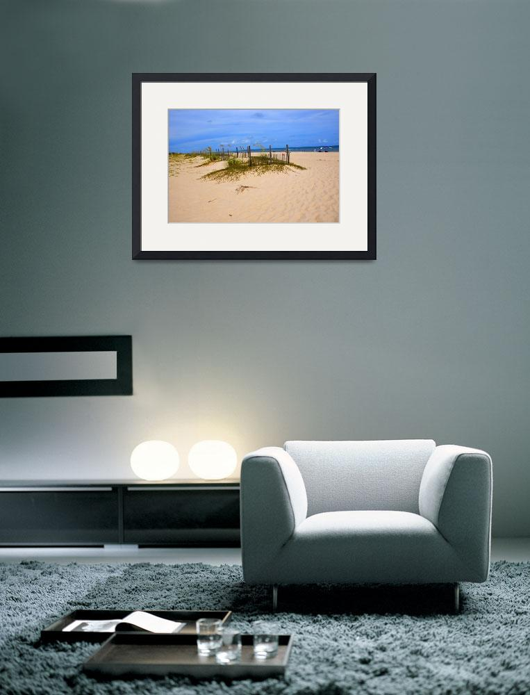 """""""Beach at St. George Island&quot  (2009) by mikeburk"""
