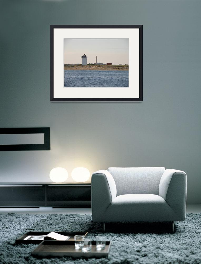 """""""Lighthouse & Monument&quot  (2010) by ajkartworks"""