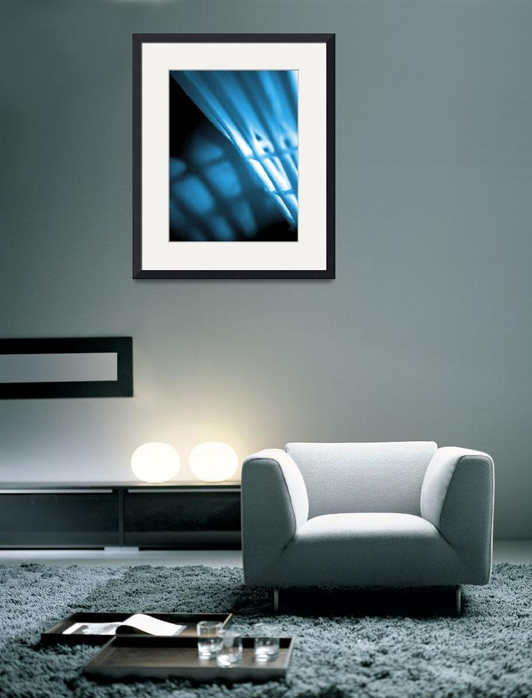 """""""Turquoise Abstract Wall Art&quot  by NatalieKinnear"""